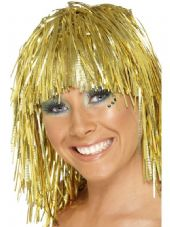 1970's Tinsel Wig in Silver